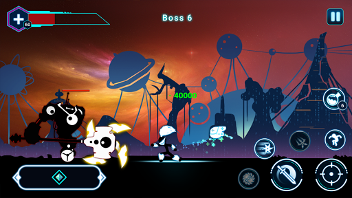 Stickman Ghost 2: Galaxy Wars - Shadow Action RPG 6.6 screenshots 4