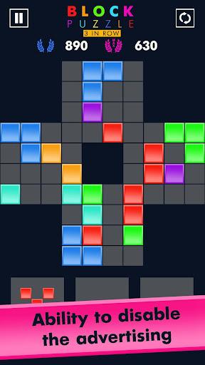 Block Puzzle Match 3 Game apktram screenshots 6