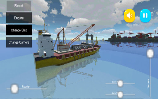 Atlantic Virtual Line Ships Sim 5.0.1 screenshots 7