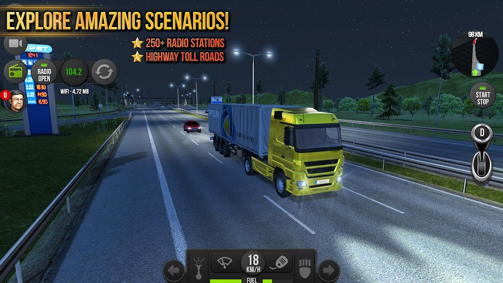 Truck Simulator 2018 : Europe poster 2