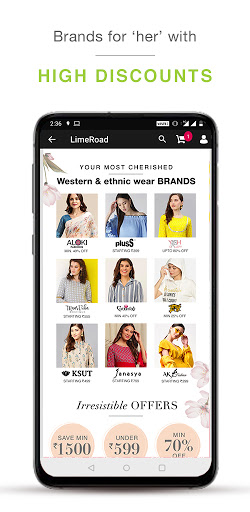 LimeRoad Online Shopping App for Women, Men & Kids  screenshots 3