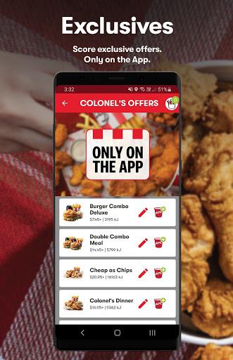 KFC - Order On The Go 20.4.0 Screenshots 1