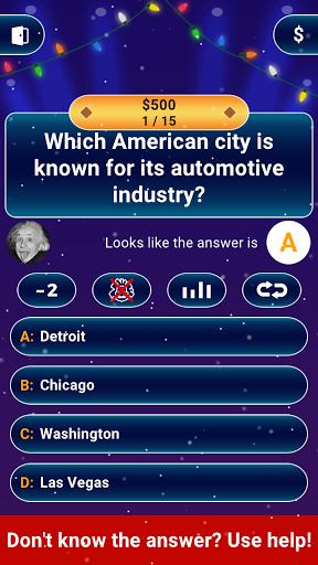 Millionaire 2020 -  Free Trivia Quiz Offline Game 1.5.3.3 Screenshots 3