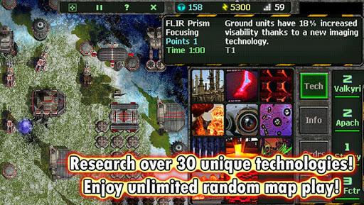 Land Air Sea Warfare RTS  screenshots 4