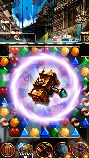 Jewel Ruins: Match 3 Jewel Blast android2mod screenshots 2