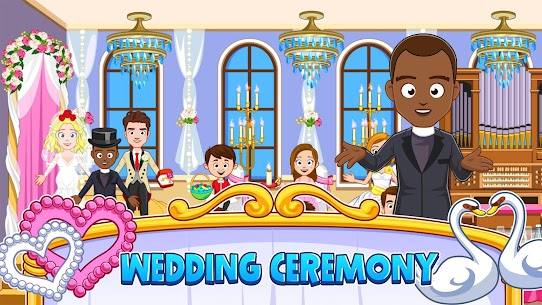 My Town : Wedding Bride Game for Girls Free (MOD, Unlimited Money) For Android 4