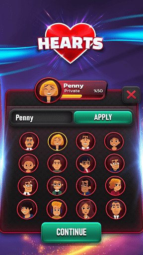 Hearts 2.0.4 screenshots 11