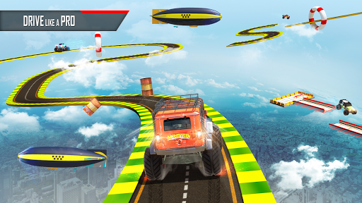 Monster Truck Game: Impossible Car Stunts 3D  screenshots 3