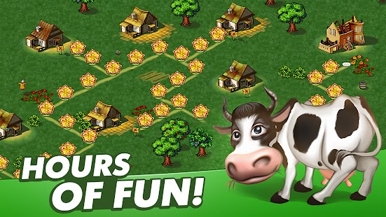 Farm Frenzy Free: Time management games offline 🌻 Screenshot