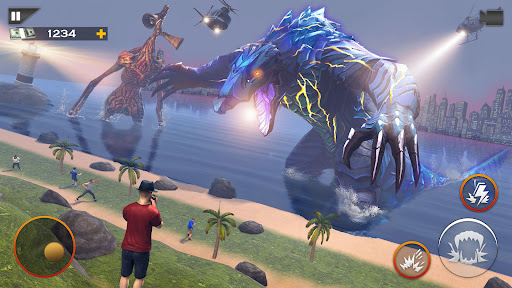 Monster Smash City - Kaiju vs Siren Head  screenshots 3