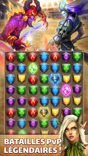 Code Triche Empires & Puzzles: Epic Match 3 (Astuce) APK MOD screenshots 3