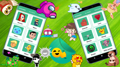 🎬 ANIMATED WAStickerApps (Moving Stickers) screenshots 2