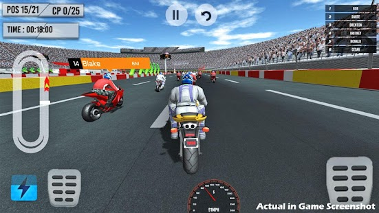Bike Racing 2021 - Free Offline Racing Games Screenshot