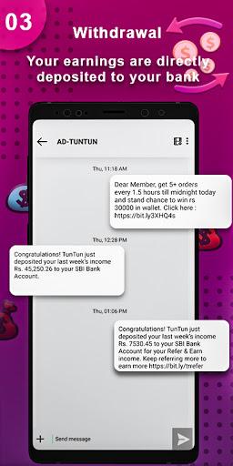 TunTun - Resell, Work From Home, Earn Money Online apktram screenshots 5