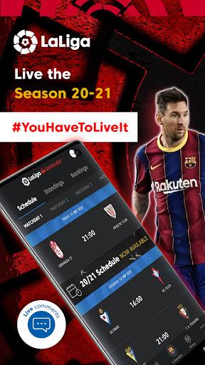 La Liga Official App - Live Soccer Scores & Stats 7.4.8 Screenshots 1