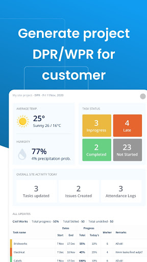 Powerplay- Free Site & Construction Management App modavailable screenshots 2