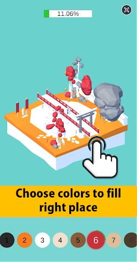 Color Pocket World 3D  screenshots 1
