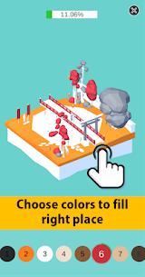Color Pocket World 3D MOD (Unlimited Gold Coins/Tips) 1