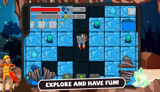 Digger Machine: dig and find minerals modavailable screenshots 17