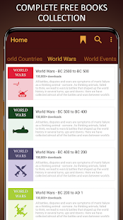World History in English (Battles, Events & Facts)