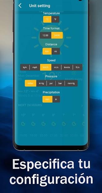 Captura de Pantalla 6 de Tiempo en vivo - Pronóstico del tiempo 2020 para android