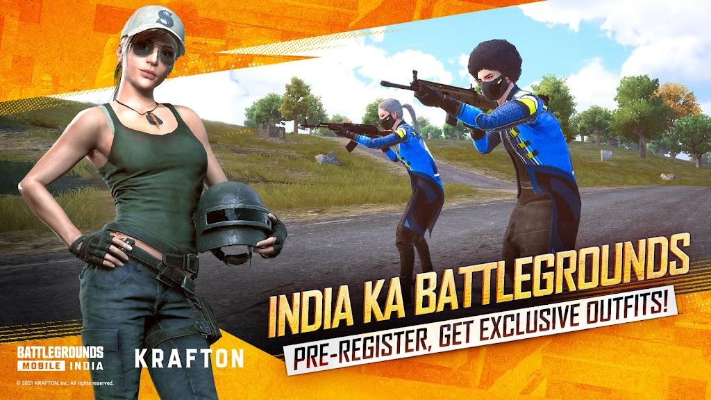 BATTLEGROUNDS MOBILE INDIA  poster 2