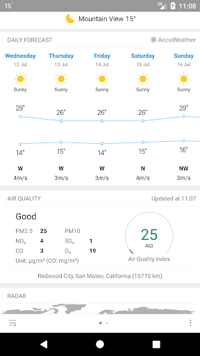 Weather Mate (Weather M8) 1.6.7 Screenshots 3