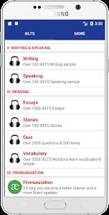 IELTS Listening, Writing & Speaking