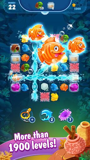 Mermaid - treasure match-3 2.42.0 screenshots 2