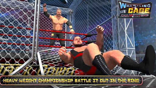 Wrestling Cage Championship : WRESTLING GAMES 6.5 screenshots 2