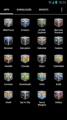 Silver Cube 4 Apex Launcher For PC Windows (7, 8, 10, 10X) & Mac Computer Image Number- 6