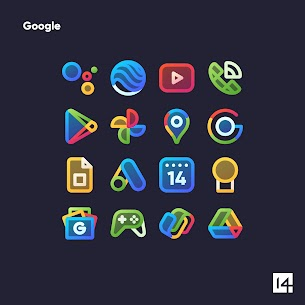 AlineT Icon Pack Pro Apk – linear icons + transparent fill (Patched) 6