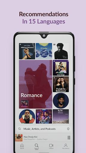 JioSaavn Music & Radio u2013 JioTunes, Podcasts, Songs apktram screenshots 2