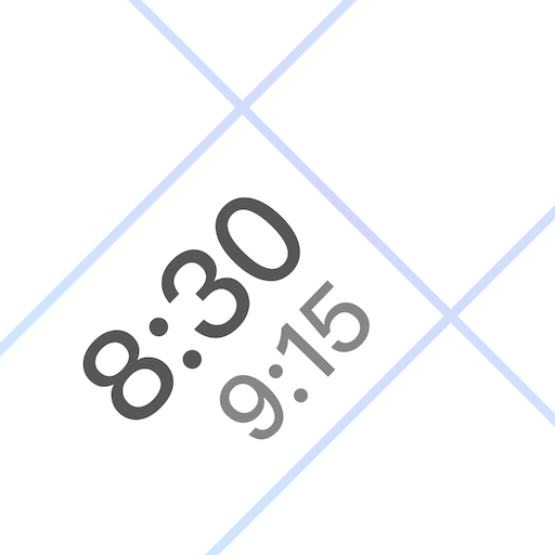 Horarios – Weekly Timetable