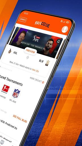 Cricket Live Stream, Scores & Predictions: FanCode android2mod screenshots 2