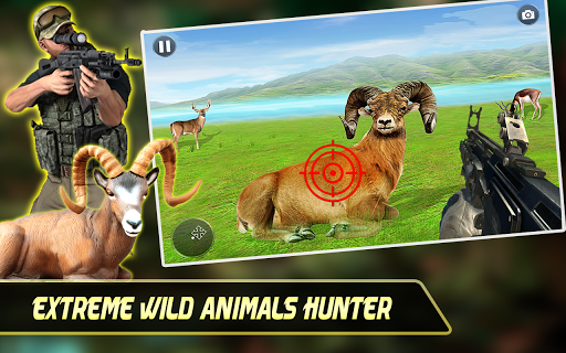 Code Triche Wild Animal Hunting Game:Jurassic World Hunter Sim apk mod screenshots 3