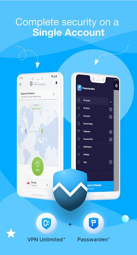 VPN Unlimited - Free VPN Proxy Shield 8.4 Screenshots 1
