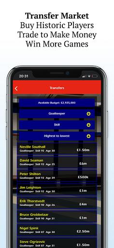Retro Football Management - Be a Football Manager  screenshots 5