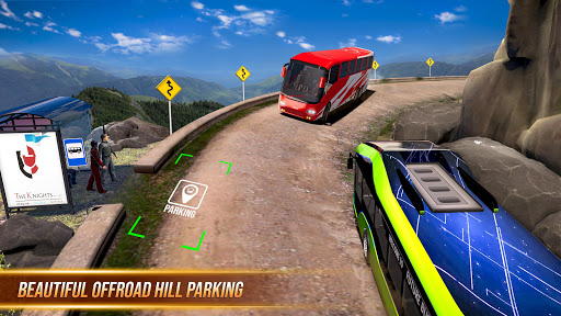 Modern Bus Simulator Parking New Games – Bus Games screenshots 1