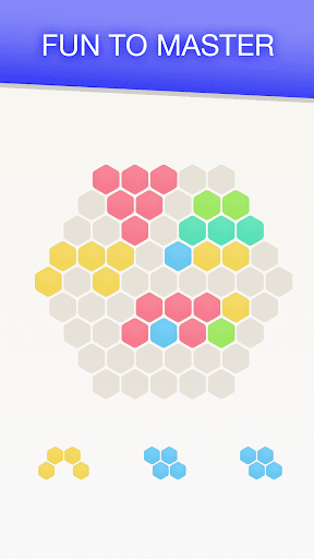Hex FRVR - Drag the Block in the Hexagonal Puzzle screenshots 2