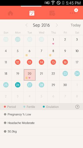 Once -A special period tracker apktram screenshots 8