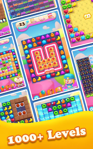 Crazy Candy Bomb - Sweet match 3 game 4.6.1 screenshots 12