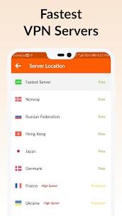 HOT VPN v1.2.1 MOD APK – Free VPN Proxy – High VPN Speed 3