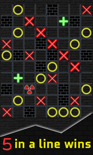 Tic Tac Toe XO - Block Puzzle 5 in a row  screenshots 1