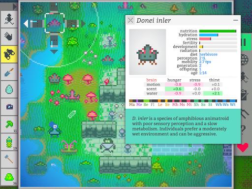 Code Triche Vilmonic - Évolution d'une Vie de Pixels APK MOD (Astuce) screenshots 3
