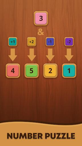 Mergezilla - Number Puzzle apkpoly screenshots 5