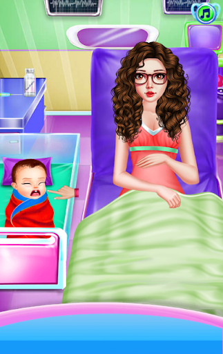 Newborn Care Game Pregnant games Mommy in Hospital 11.0.0 screenshots 2