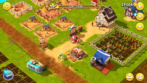 Happy Town Farm Games - Farming & City Building  screenshots 14