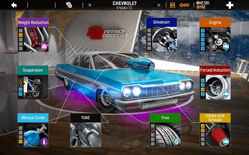 Nitro Nation Drag & Drift Racing  screenshots 3