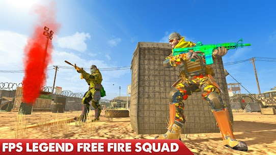 Counter Terrorist Strike 2021 Mod Apk (God Mode/Dumb Enemy) 9